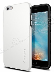Spigen Thin Fit Hybrid iPhone 6 Plus / 6S Plus Beyaz Kılıf