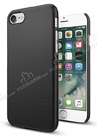 Spigen Thin Fit iPhone 7 Siyah Rubber Kılıf