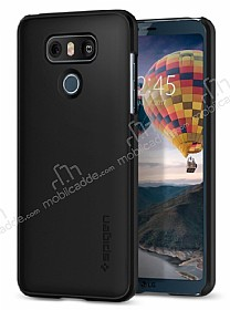 Spigen Thin Fit LG G6 Siyah Rubber Kılıf