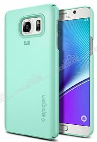 Spigen Thin Fit Samsung Galaxy Note 5 Yeşil Kılıf