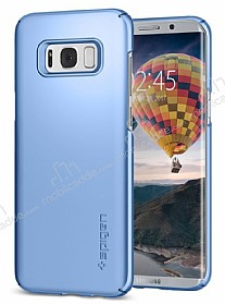 Spigen Thin Fit Samsung Galaxy S8 Plus Blue Coral Rubber Kılıf