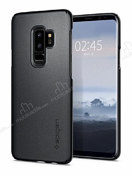 Spigen Thin Fit Samsung Galaxy S9 Plus Graphite Gray Kılıf