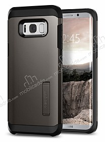 Spigen Tough Armor Samsung Galaxy S8 Plus Gunmetal Kılıf