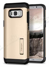 Spigen Tough Armor Samsung Galaxy S8 Plus Gold Maple Kılıf