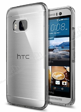 Spigen Ultra Hybrid HTC One M9 Space Crystal Rubber Kılıf