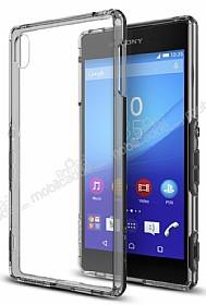 Spigen Ultra Hybrid Sony Xperia Z3 Plus Şeffaf Uzay Grisi Kılıf