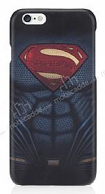 Superman iPhone 6 / 6S Dark Rubber Kılıf