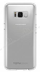 Totu Design Airbag Samsung Galaxy S8 Şeffaf Silikon Kılıf