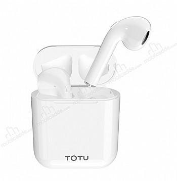 Totu Design Beyaz Bluetooth Kulaklık