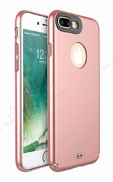 Totu Design Color Series iPhone 7 Plus Rose Gold Rubber Kılıf