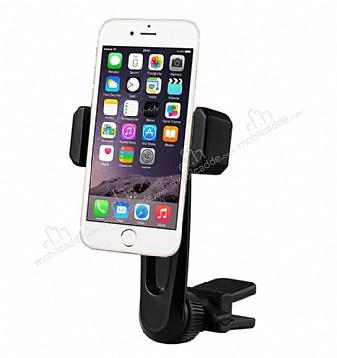 Totu Design CT04 iPhone 6 Plus / 6S Plus Siyah Araç Havalandırma Tutucu