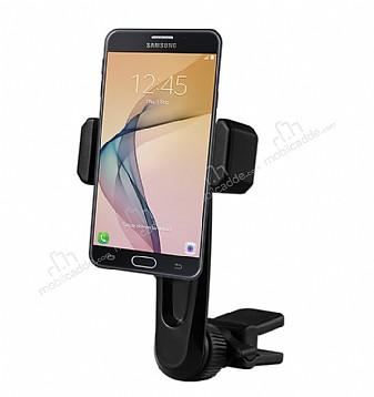 Totu Design CT04 Samsung Galaxy J7 Prime Siyah Araç Havalandırma Tutucu