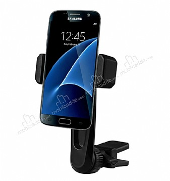 Totu Design CT04 Samsung Galaxy S7 Siyah Araç Havalandırma Tutucu