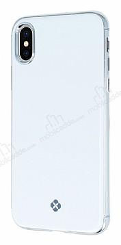 Totu Design Furios iPhone X 3ü 1 Arada Beyaz Rubber Kılıf