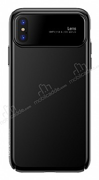 Totu Design Magic Mirror iPhone X Siyah Rubber Kılıf