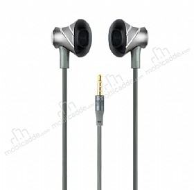 Totu Design Melody Series Mikrofonlu Kulakiçi Dark Silver Kulaklık