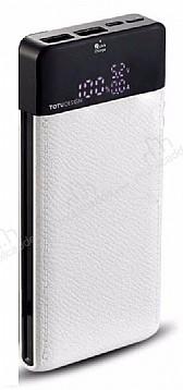 Totu Design Qualcomm 3.0 10000 mAh Powerbank Beyaz Yedek Batarya