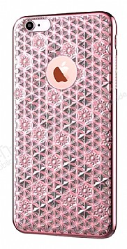 Totu Design Reform iPhone 6 Plus / 6S Plus Pembe Silikon Kılıf