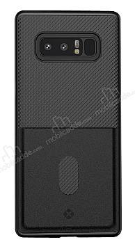 Totu Design Samsung Galaxy Note 8 Kartlıklı Siyah Rubber Kılıf