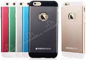 Totu Design Knight iPhone 6 Plus / 6S Plus Metal Siyah Kılıf