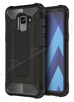 Tough Power Samsung Galaxy A6 2018 Ultra Koruma Siyah Kılıf