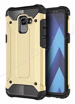 Tough Power Samsung Galaxy A6 2018 Ultra Koruma Gold Kılıf