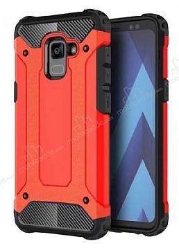 Tough Power Samsung Galaxy A6 2018 Ultra Koruma Kırmızı Kılıf