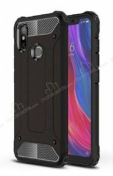 Tough Power Xiaomi Mi 8 SE Ultra Koruma Siyah Kılıf