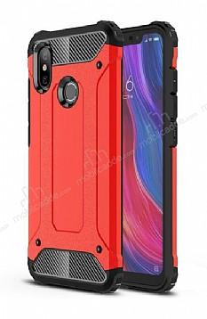 Tough Power Xiaomi Mi 8 Ultra Koruma Kırmızı Kılıf