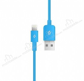 TTEC Lightning USB Mavi Data Kablosu 1m