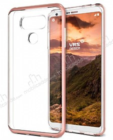 VRS Design Crystal Bumper LG G6 Rose Gold Kılıf