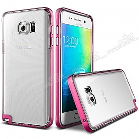 Verus Crystal Bumper Samsung Galaxy Note 5 Hot Pink Kılıf