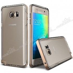 Verus Crystal Bumper Samsung Galaxy Note 5 Shine Gold Kılıf