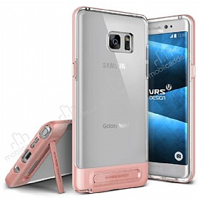 VRS Design Crystal Bumper Samsung Galaxy Note 7 Rose Gold Kılıf