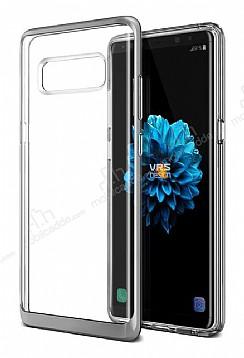 VRS Design Crystal Bumper Samsung Galaxy Note 8 Light Silver Kılıf