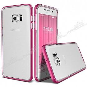 Verus Crystal Bumper Samsung Galaxy S6 Edge Plus Hot Pink Kılıf
