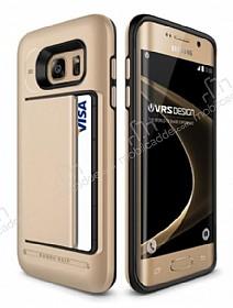 Verus Damda Clip Samsung Galaxy S7 Edge Shine Gold Kılıf