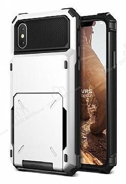 VRS Design Damda Folder iPhone X Beyaz Kılıf