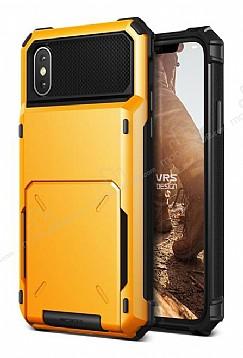 VRS Design Damda Folder iPhone X Volcano Yellow Kılıf