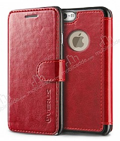 Verus Dandy Layered Leather iPhone 6 / 6S K�rm�z� K�l�f