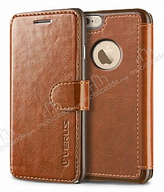 Verus Dandy Layered Leather iPhone 6 Plus / 6S Plus Açık Kahverengi Kılıf