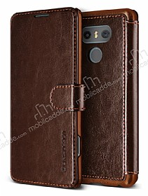 Verus Dandy Layered Leather LG G6 Kahverengi Kılıf