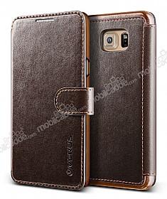 Verus Dandy Layered Leather Samsung Galaxy Note 5 Kahverengi Kılıf
