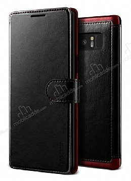 VRS Design Dandy Layered Leather Samsung Galaxy Note 8 Siyah Kılıf