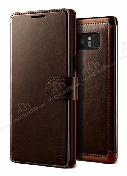 VRS Design Dandy Layered Leather Samsung Galaxy Note 8 Kahverengi Kılıf
