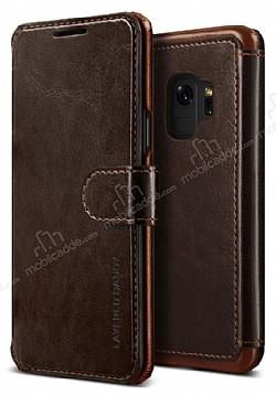 VRS Design Dandy Layered Leather Samsung Galaxy S9 Kahverengi Kılıf