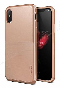 VRS Design High Pro Shield iPhone X Blush Gold Kılıf