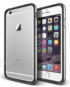 Verus Iron Bumper iPhone 6 / 6S Black + Silver Kılıf
