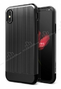 VRS Design Shine Coat iPhone X Siyah Kılıf