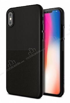 VRS Design Skin Fit iPhone X Siyah Kılıf